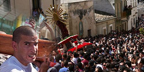 u Gioia, Pasqua a Scicli